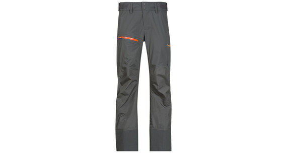 Bergans W's Storen Pants Lady Solid Dark Grey/Pumpkin